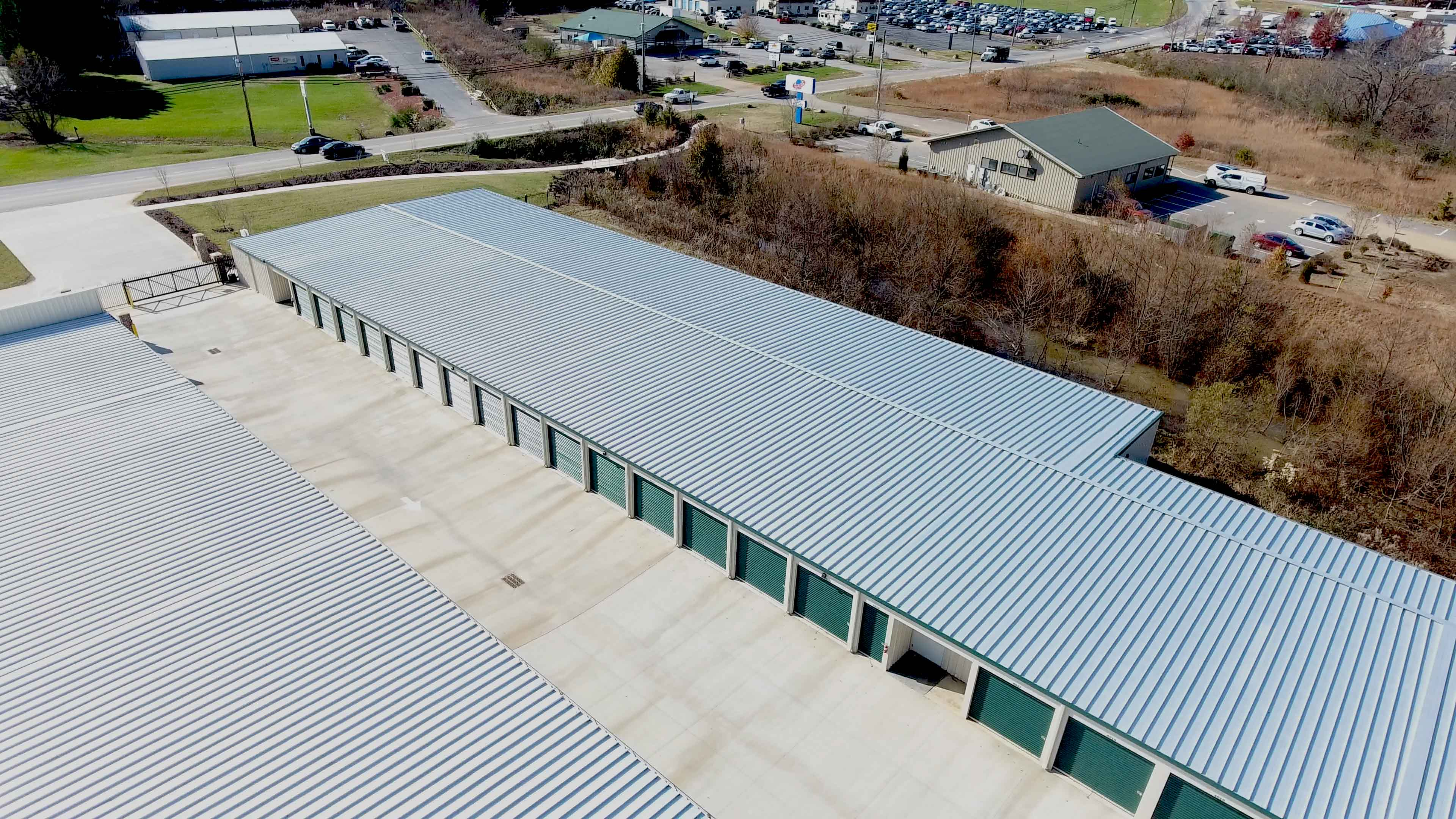 Asheville Storage NC - Overview of Drive-up Storage Units, Asheville, North Carolina